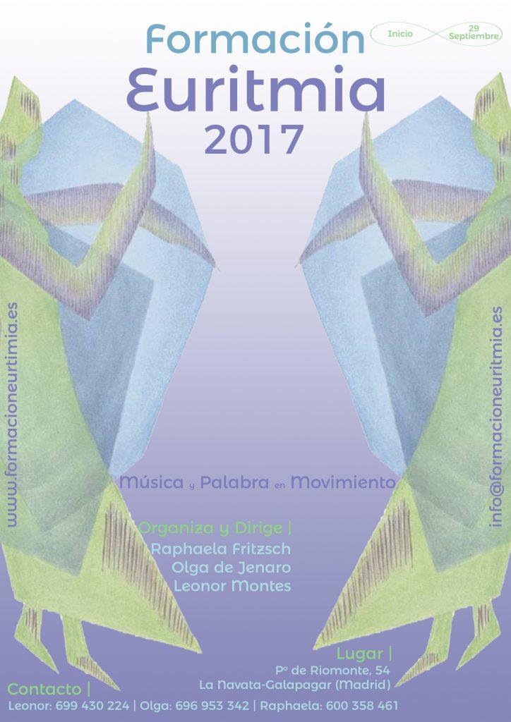 Cartel curso euritmia 2017